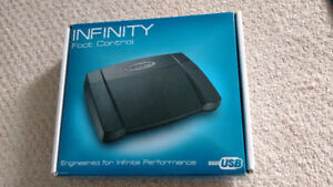 Infinity Foot Control Pedal (IN-USB) for transcription