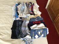 Boundle of boys clothes 0-3 months and pram suit 3-6 months
