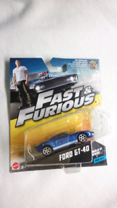 MATTEL FAST AND FURIOUS FORD GT 40 FAST FIVE DIECAST MINT #32/32