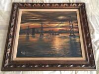 Vintage oil painting (signed and dated 1965)