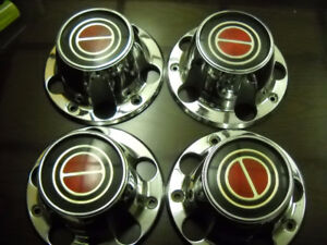 1979 New Factory Ford F-150 metal crnter caps for mags