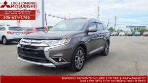2017 Mitsubishi Outlander GT - LOADED for only $276 BW!