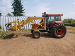 1979 Deutz D13006 with Ezee on loader and grapple