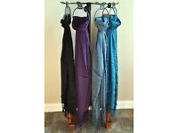 60 Ladies Scarves with Display Stand and Hangers