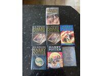 HARRY POTTER FIRST EDITION BLOOMSBURY BOOKS - HARDBACK