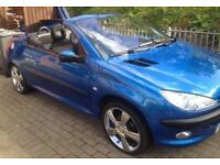 PEUGEOT 206 COUPE CONVERTIBLE £875