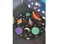 Boys space rug