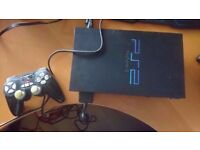 Ps2 console & games bundle