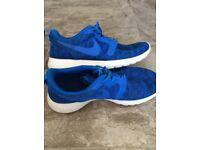 Blue Roshe Nike trainers