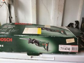 Bosh electric handsaw good condition still in box. For sale bargain @ £35 collection only