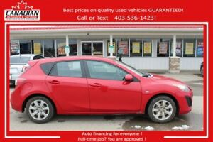 2010 Mazda Mazda3 GX 2 SET TIRES LOW KMS FINANCING FOR ALL!