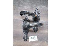 reclaimed pair wrought iron door / gate handles