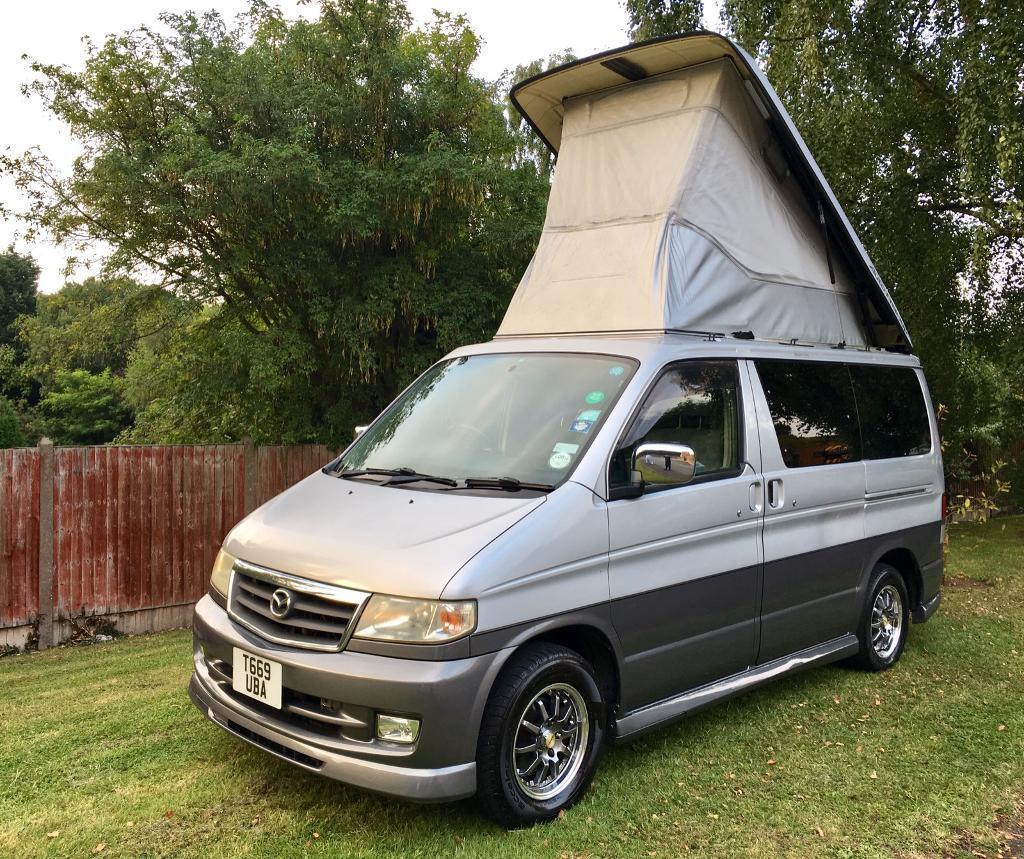 1999 Mazda Bongo Camper Van 4 Berth 8 Str Aero Bodykit
