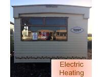 Static Caravan Pre-Owned Cosalt Riviera Sorrento 24 x 10 ft 1 Bedroom Electric Blown Air Heating