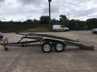 Brenderup Car Transporter Tilting Trailer