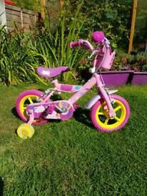 """Peppa Pig 12"""" bike"""