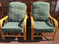 Pair of Conservatory Chairs