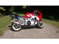 Honda Cbr900rr Fireblade for sale, good condition, full MOT, recent tyres, rides great.