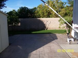 RV Lot 37 For Rent, Desert Aire RV Resort, Indio Ca
