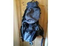 Highlander Discoveryt 85L Rucksack - Trip, Festivals, Travel