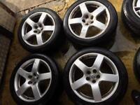 "17"" GENUINE VW GOLF MK4 V6 GTI BETTLE JETTA SET OF 4 BORA"