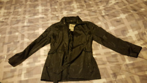 Small black womens coat.