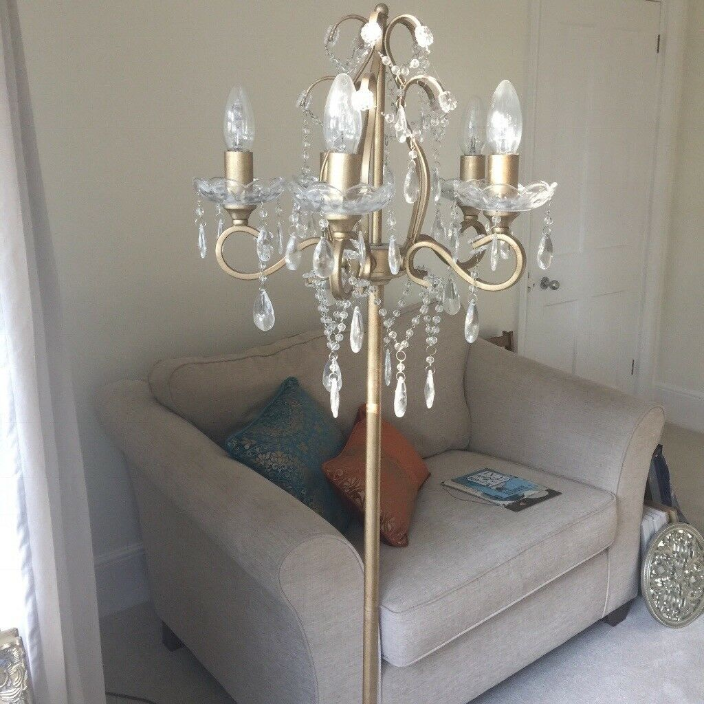 Laura ashley shamley chandelier floor lamp in tiverton devon laura ashley shamley chandelier floor lamp mozeypictures Choice Image