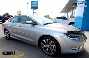 2015 Chrysler 200 C | Leather Interior | Heated Seats