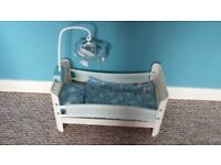 Baby Annabell brother cot bed