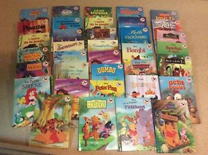Lot de 36 livres de Walt Disney