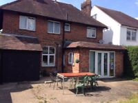 Detached house rooms to rent