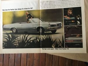 1966, 1968, 1969 Pontiac GTO Marketing