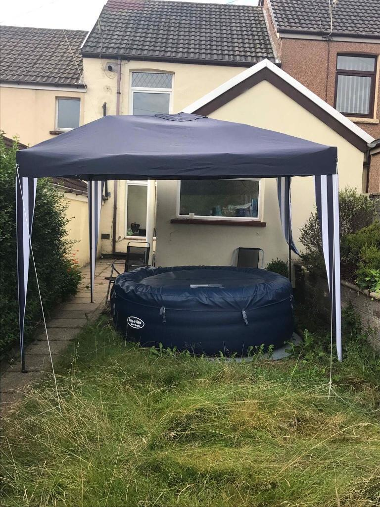 Lazy Spa And Gazebo In Bargoed Caerphilly Gumtree