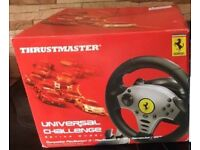 Play station 2 racing wheel