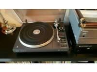 """PHILIPS 877 Turntable Stereo Record Player Semi Automatic + ORTOFON """"FF15E mk2"""" BARGAIN"""