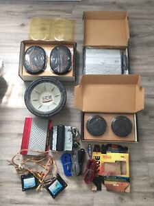 New & used car stereo equipment