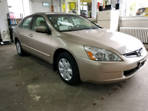 2003 Honda Accord lx LOW KM!! 128 000!! Certified + e-tested