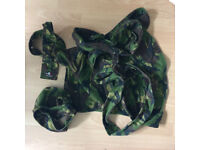 Army camo Napsackbaby carrier