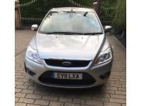 2011 Silver Ford Focus 1.6 Sport