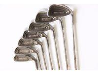 Yasuda SP 1800 cavity back golf clubs 5,6,7,8,9,PW&SW Metal Shaft