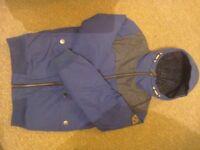 Next blue boys coat age 11
