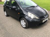 HONDA JAZZ FULL MOT LOTS OF NEW PARTS JUST SERVICED GREAT LITTLE CAR MUST SEE