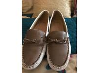 Pavers leather white/taupe shoe 4