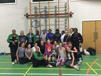 Pay as you go netball training and matches. Beginners welcome