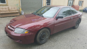2002 Chevy Cavalier - Low Milage - Auto - Mint