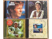 Collection of 4 John Denver CDs Good Condition