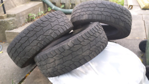 TIRES (4)  275 60 20