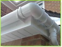 UPVC GUTTERS, SOFFITS & FASCIAS SUPPLIED & FITTED, GUTTER CLEANING!!