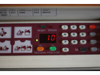 Brother 950i Electronic Knitting Machine And Matching Ribber Plus All Accessories