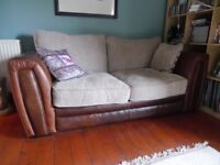 Two seater Sofa Bed, like new